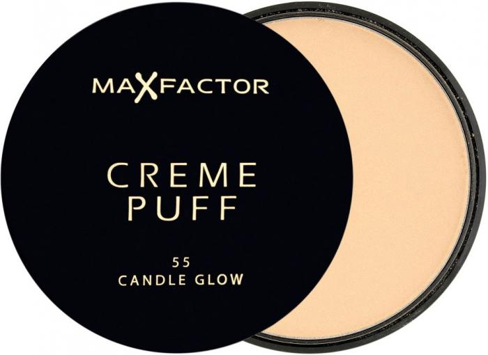 Pudra Max Factor Creme Puff - 55 Candle Glow-big