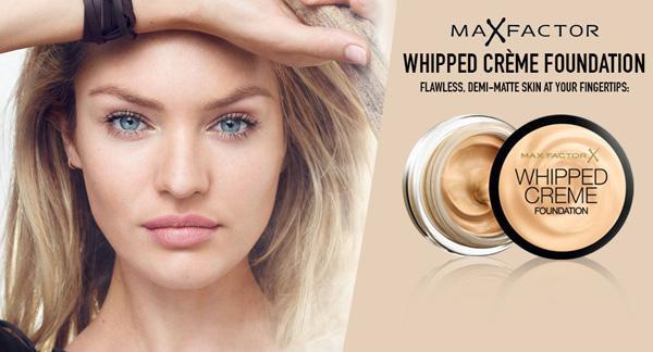 Fond de Ten Max Factor Whipped Creme - 33 Crystal Beige-big