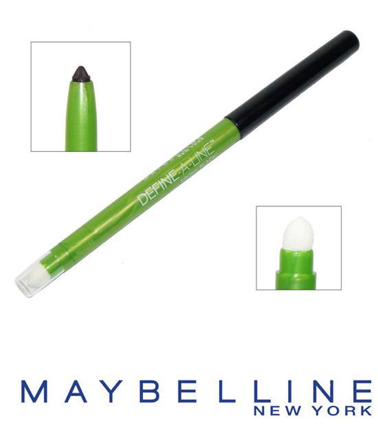 Creion Contur de Ochi Maybelline Define a Line - Ebony Black-big