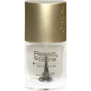 Oja L'oreal Resist & Shine Titanium - 001 Pure Transparent-big