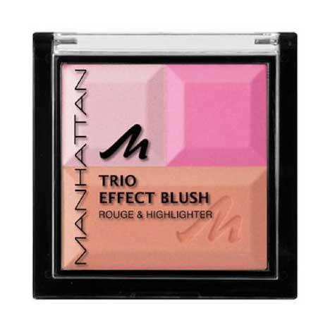 Paleta Bronzanta Iluminatoare MANHATTAN Trio Effect - Pink Cupcake-big