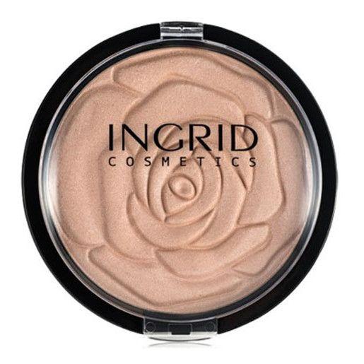 Pudra Minerala Iluminatoare Ingrid HD, Make-up Shimmer Powder, 25 g-big