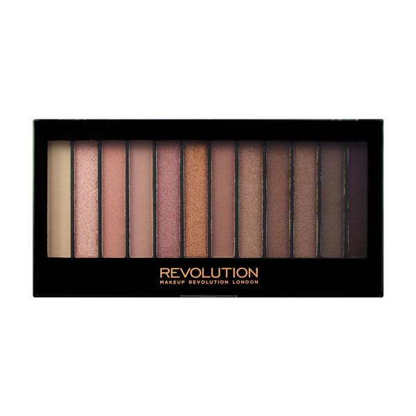 Paleta Cu 12 Farduri MAKEUP REVOLUTION Redemption Palette - Iconic 3, 14g-big