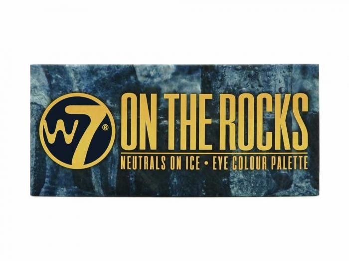 Paleta farduri W7 On The Rocks Eye Colour Palette, Neutrals on Ice, 14 culori, 9.6g-big