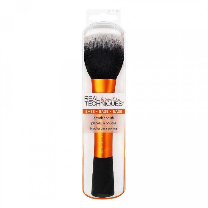 Real Techniques Base Powder Brush - Pensula profesionala de machiaj pentru pudra-big
