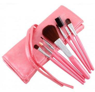 Set de 7 Pensule Profesionale Fraulein38 - Silk Pink-big