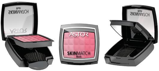 Fard De Obraz Astor Skin Match Trio Blush-002 Peachy Coral-big