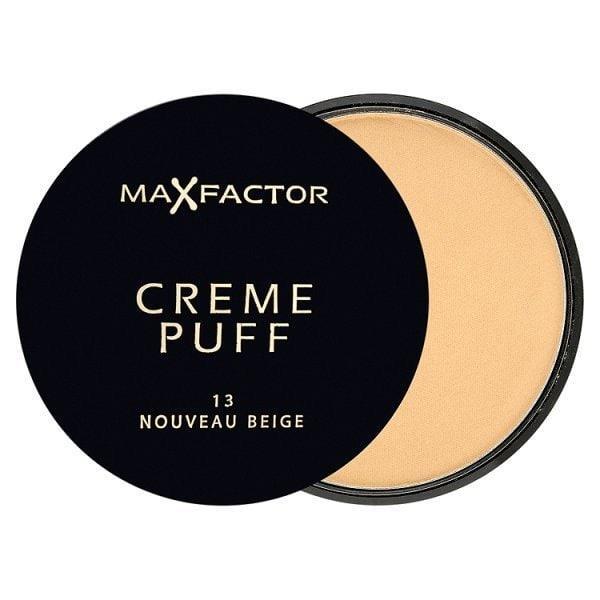 Pudra Max Factor Creme Puff Compact - 13 Noveau Beige, 21g-big