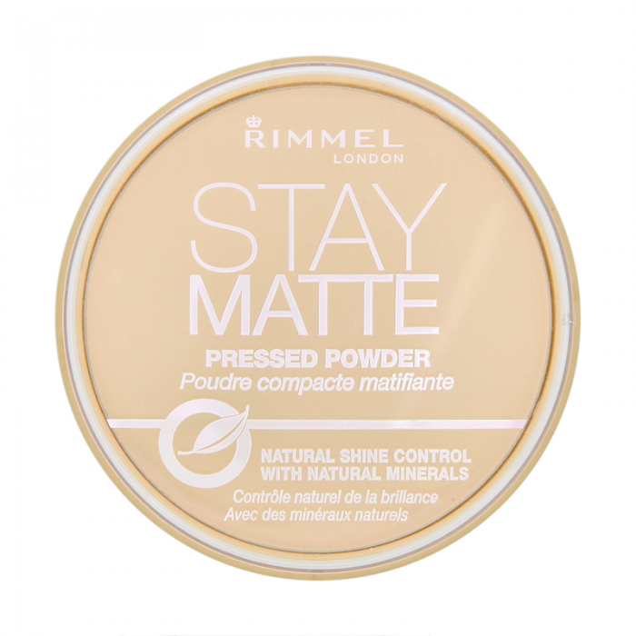 Pudra Compacta Rimmel Stay Matte - 001 Transparent-big