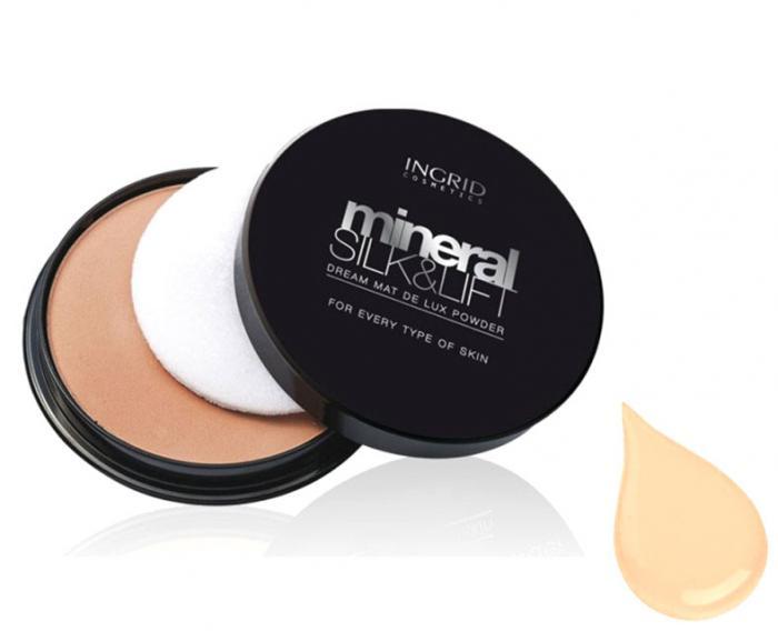 Pudra Compacta Profesionala Ingrid Cosmetics Mineral Silk & Lift - 20 Light-big
