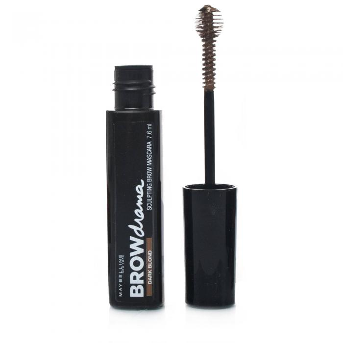 Rimel Pentru Sprancene Maybelline Brow Drama - Dark Brown-big