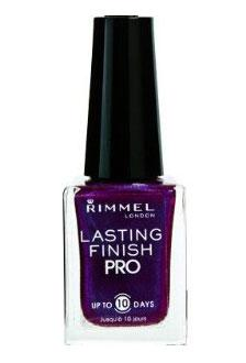 Lac de unghii Rimmel Lasting Finish Pro - 350 Violet Metal-big