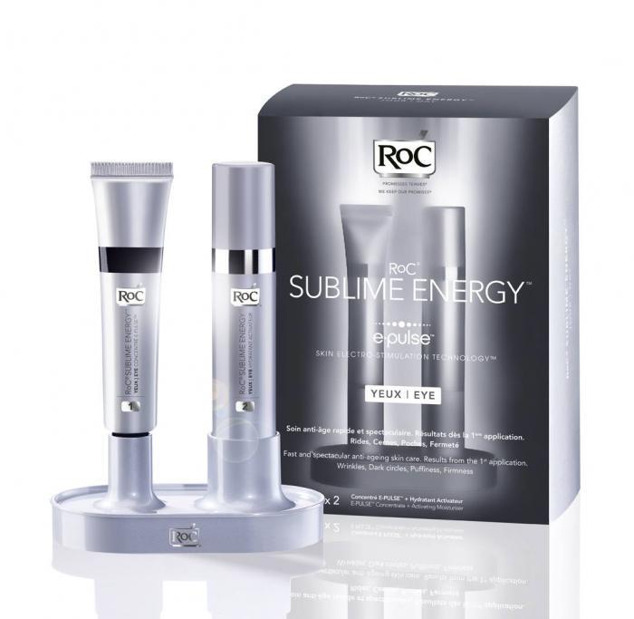 Set cu 2 Seruri Concentrate pentru ochi RoC Sublime Energy E-Pulse Eye, 2 x 10 ml-big
