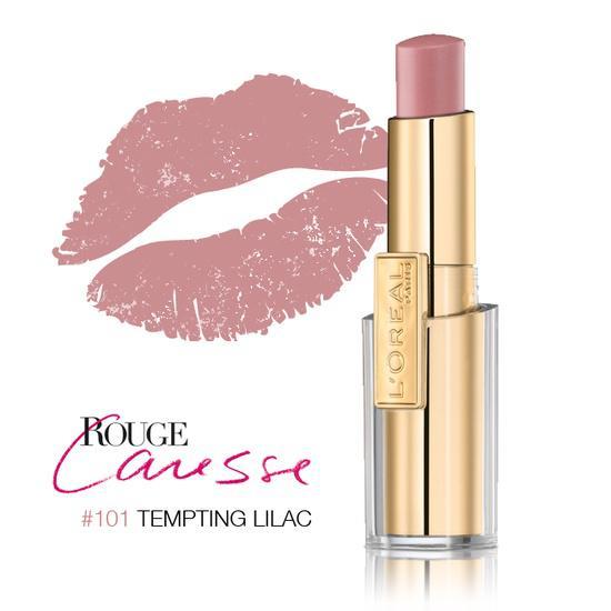 Ruj L'oreal Caresse - 101 Tempting Lilac-big