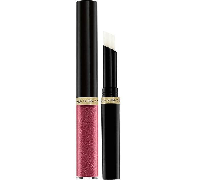 Ruj de buze rezistent la transfer Max Factor Lipfinity, 330 Essential Burgundy, 2.3 ml + 1.9 g-big