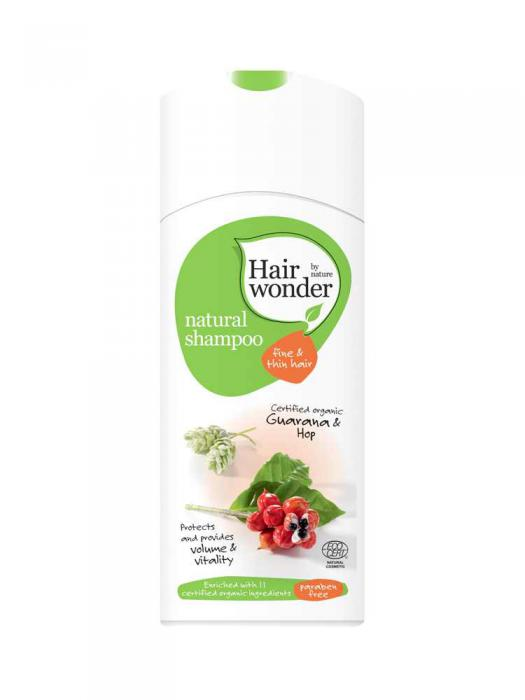 Sampon HennaPlus pentru Par Normal si Subtire Hair Wonder - 200 ml-big
