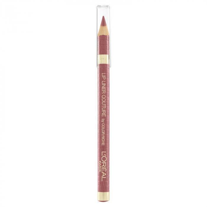 Set Buze L'Oreal Paris Color Riche Matte Lip Kit: Ruj 636 Mahogany Studs si Creion de Buze 302 Bois De Rose-big