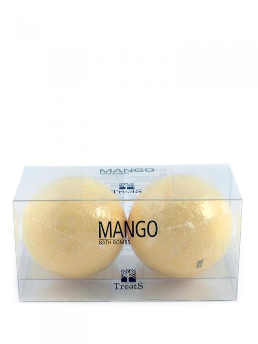 Set 2 Bile Efervescente de Baie TREETS cu Mango - 2 x 180 gr-big