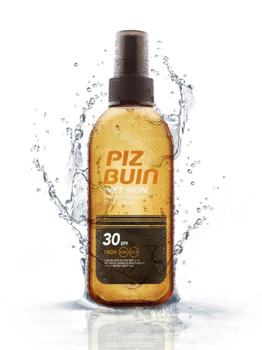 Spray Protectie Solara PIZ BUIN Wet Skin 150 ml cu SPF 30-big
