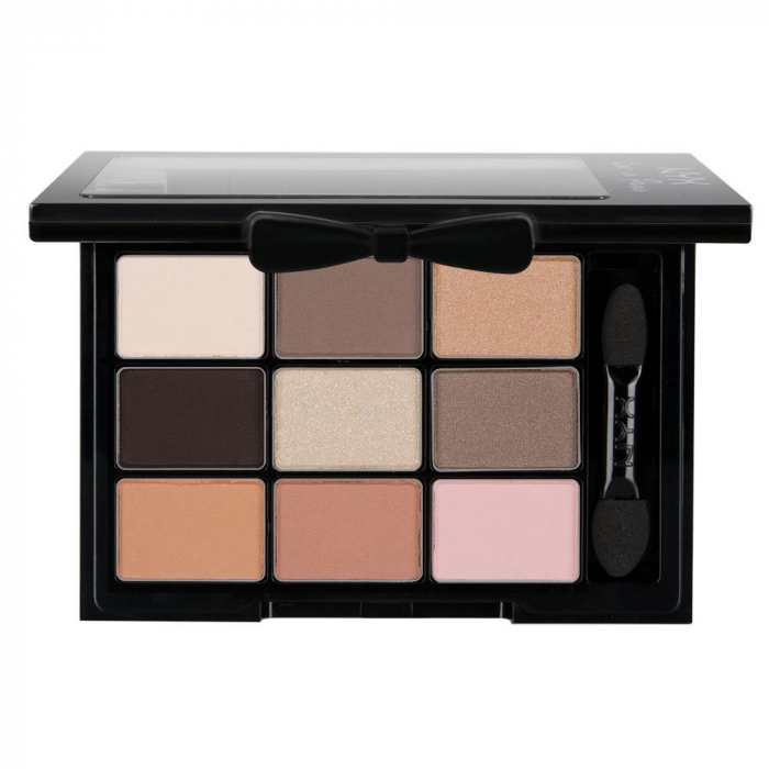 Paleta de Farduri NYX Professional Love In Paris Eyeshadow, 02 Madeleines and Macaroons-big