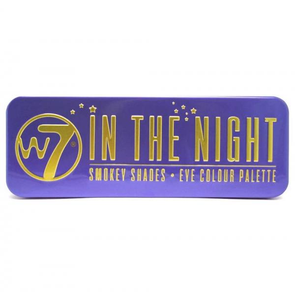 Trusa Profesionala cu 12 Farduri W7 Smokey Shadows - In The Night-big
