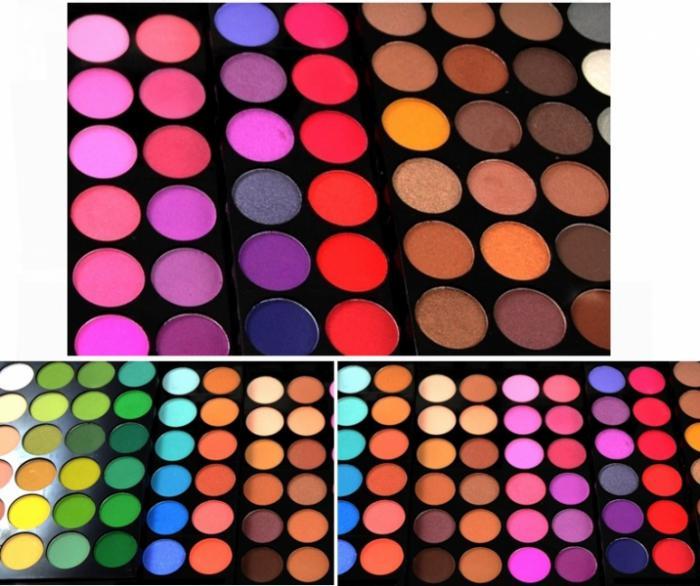 Trusa Profesioanala de Farduri cu 96 Nuante -Ideal Colors-big