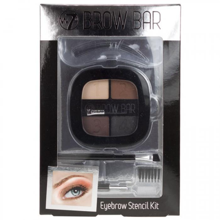 Kit pentru Sprancene W7 Brow Bar-big