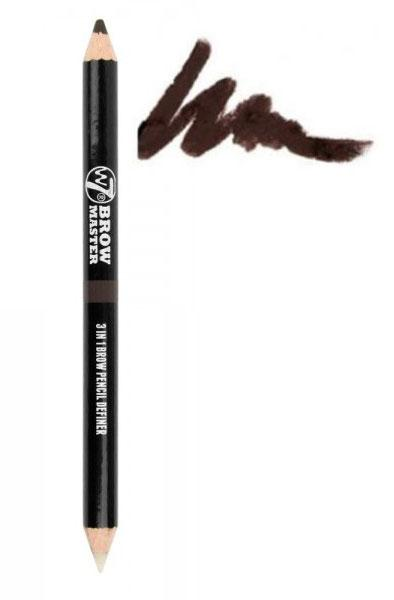 Creion De Sprancene cu 2 capete W7 Brow Master 3 in 1 - MARO-big