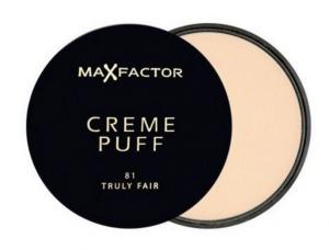 Pudra Max Factor Creme Puff - 81 Truly Fair0