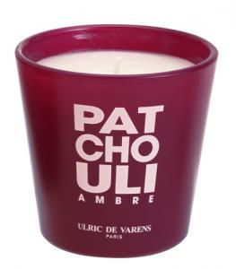 Candela Parfumata Luxury Edition ULRIC DE VARENS - Patchouli Ambre