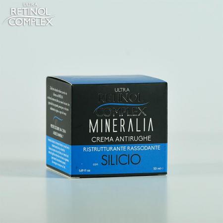 Crema antirid cu SILICIU Restructurant cu efect de fermitate, Mineralia 50 ml