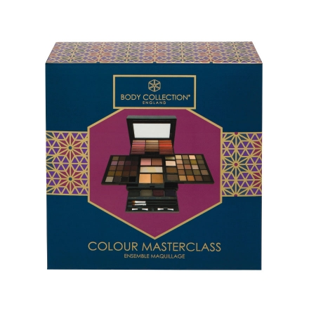 Kit complet pentru machiaj Body Collection England, Colour Masterclass, 74 de culori1