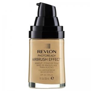 Fond De Ten Revlon Photoready Airbrush Effect 006 Medium Beige, 30 ml
