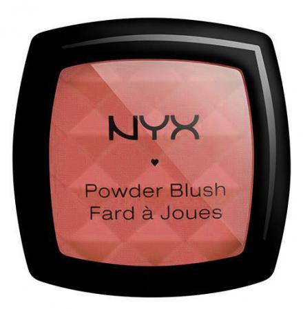 Fard de obraz NYX Professional Powder Blush - Apricot, 4 g