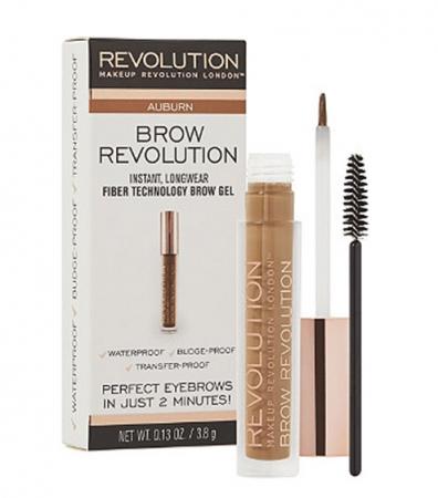 Gel Pentru Definirea Sprancenelor Makeup Revolution Brow Revolution - Auburn, 3.8 gr