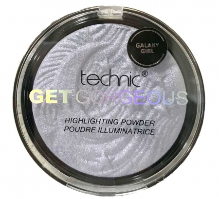 Iluminator Cu Particule Irizante Technic Get Gorgeous Highlighting Powder - Galaxy Girl, 12 gr0