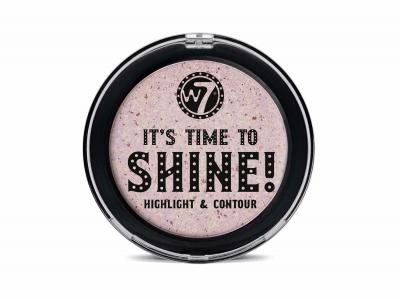 Iluminator pentru Conturare si Evidentiere W7 It's Time To Shine! Highlight & Contour