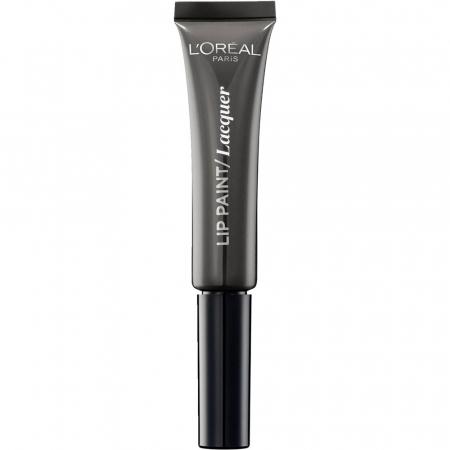 Ruj Lichid L'oreal Infallible Lip Paint Lacquer - 108 Smokey Grey, 8 ml