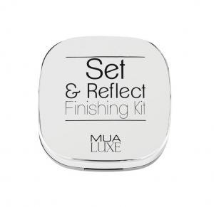 Kit Duo pentru Fixarea Machiajului cu Iluminator si Pudra Luxe Set & Reflect Finishing Kit MUA Makeup Academy Professional, 20g1