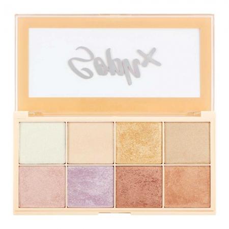 Paleta Iluminatoare Makeup Revolution Soph X Highlighter Palette, 8 nuante x 2g