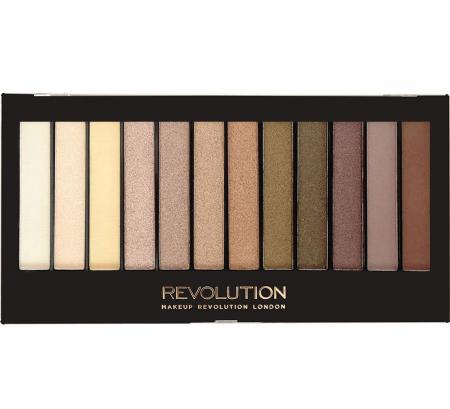 Paleta de farduri Makeup Revolution - Redemption - Iconic Dreams, 12 Nuante