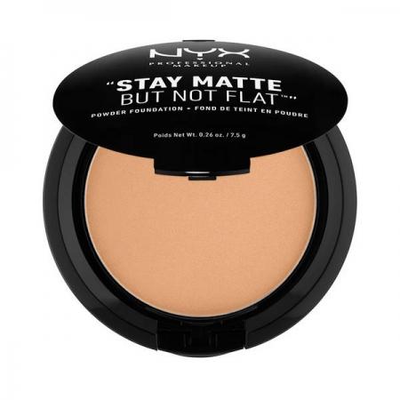 Fond De Ten Pudra Nyx Professional Makeup Stay Matte But Not Flat - Olive, 7.5 gr