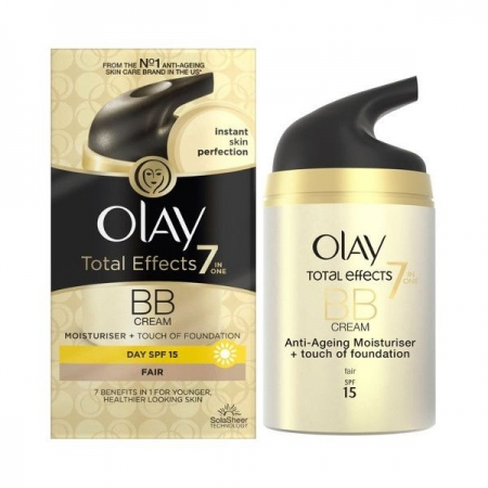 BB Cream OLAY Total Effects 7 in One BB Cream cu Efect de Fond de Ten - Fair - 50 ml