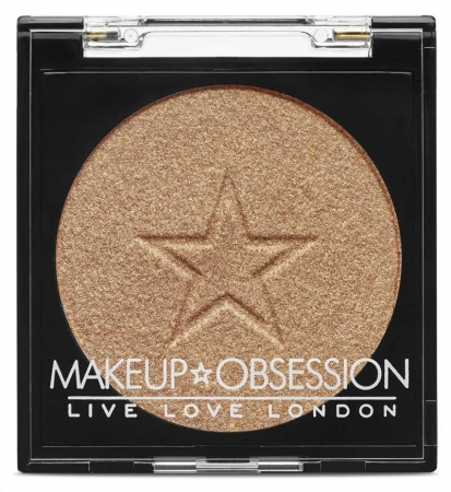 Iluminator OBSESSION Makeup London, Highlight H106 Gold, 2 gr