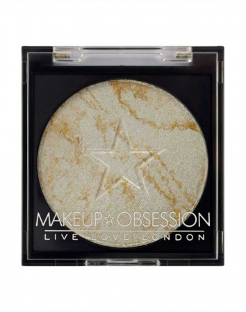 Iluminator OBSESSION Makeup London, Highlight H112 Lightning, 2 gr
