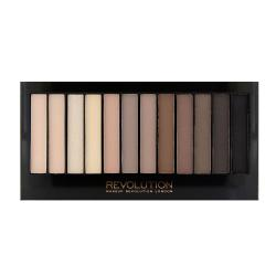 Paleta Cu 12 Farduri Mate MAKEUP REVOLUTION Redemption Palette - Iconic Elements, 14g