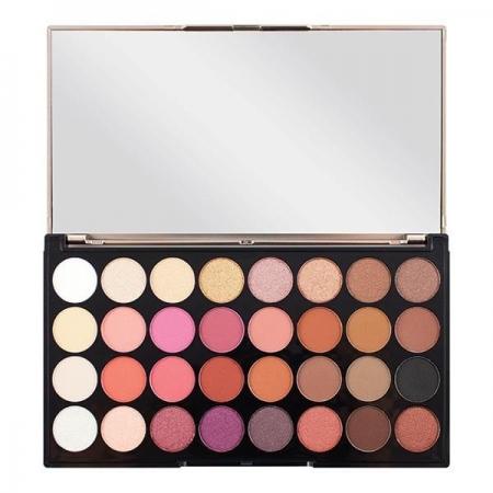 Paleta Profesionala Cu 32 Farduri Makeup Revolution - Flawless 41