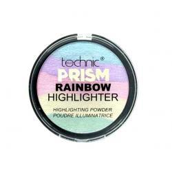 Paleta Iluminatoare Multicolora TECHNIC Prism Rainbow Highlighter Powder, 6g0