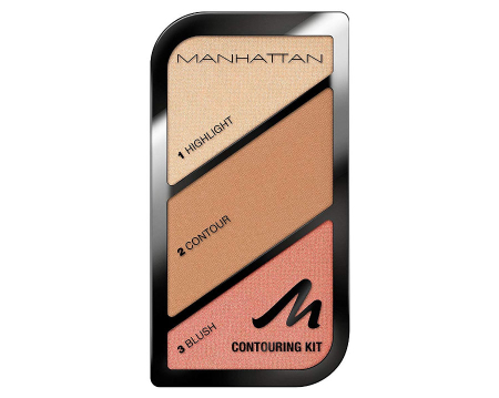 Paleta conturare si evidentiere Manhattan Contouring Kit, 002 Summer In Barbados0