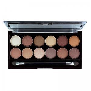 Paleta Profesionala cu 12 Farduri MUA Makeup Academy Professional Eyeshadow Palette, Heaven and Earth1